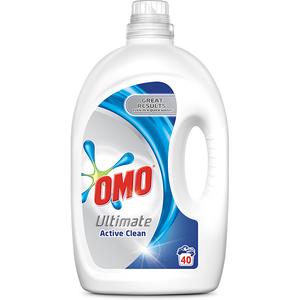 Detergent lichid OMO Ultimate, 2.8l, 40 spalari