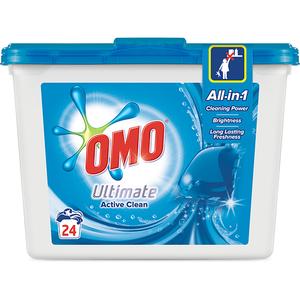 Detergent OMO Ultimate, 24 capsule, 24 spalari