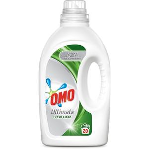 Detergent lichid OMO Ultimate Fresh Clean, 1.4l, 20 spalari