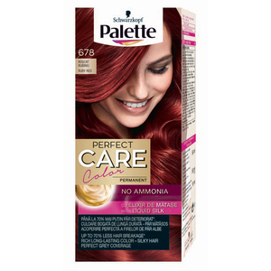 Vopsea de par PALETTE Perfect Care Creme, 678 Roscat Rubiniu, 115ml