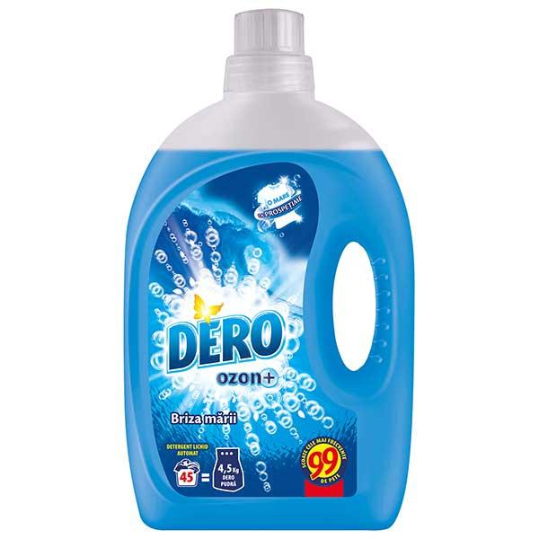 Detergent automat lichid DERO Ozon Roua Muntelui Briza Marii, 2.92l, 45 spalari