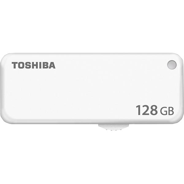 Memorie portabila TOSHIBA U203, 128GB, USB 2.0, alb