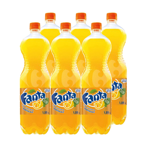 Baxbautura racoritoare FANTA ORANGE, 1.25L, 6 sticle