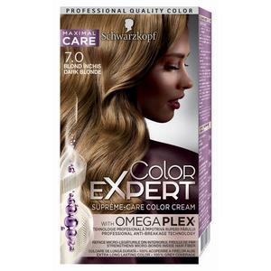 Vopsea de par SCHWARZKOPF Color Expert, 7.0 Blond Inchis, 147ml