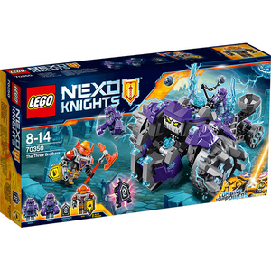 LEGO Nexo Knights: Cei trei frati, 70350