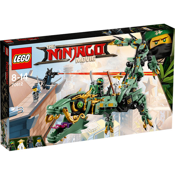 LEGO Ninjago: Robotul-Balaur ninja verde, 70612
