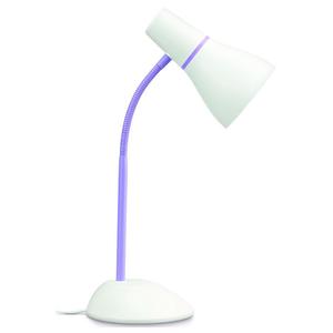 Lampa de birou PHILIPS 71567/33/PN, 11W, E27, mov-alb