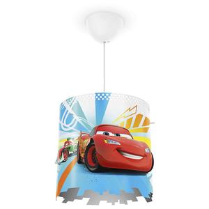 Lampa suspendata PHILIPS Disney Cars 717513216, 23W, E27, rosu