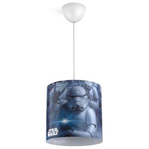 Lampa suspendata PHILIPS Star Wars 717519916, 23W, E27, albastru