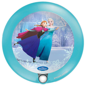 Aplica LED cu senzor de miscare PHILIPS Disney Frozen 717650816, 0.06W, albastru