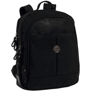 Rucsac PEPE JEANS LONDON Flag 7192451, Compartiment laptop, negru