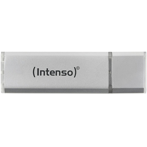 Memorie portabila INTENSO Aluminium line 3521482, 32GB, USB 2.0, argintiu
