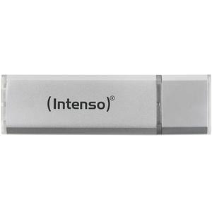 Memorie portabila INTENSO Aluminium line 3521492, 64GB, USB 2.0, argintiu