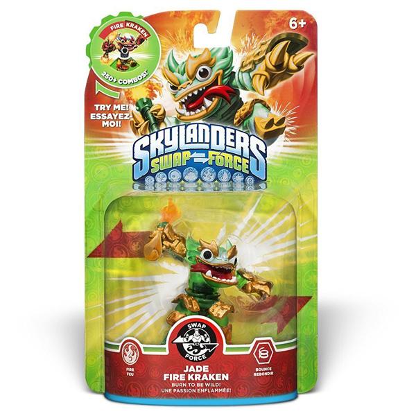 Figurina Jade Fire Kraken - Skylanders SWAP Force