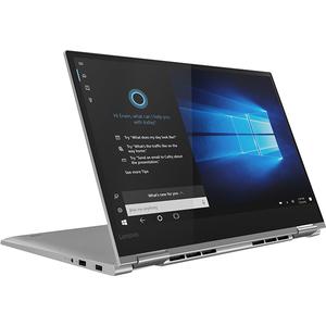 "Laptop 2 in 1 LENOVO Yoga 730-15IKB, Intel® Core™ i7-8550U pana la 4.0GHz, 15.6"" Full HD Touch, 8GB, SSD 1TB, NVIDIA GeForce GTX 1050 4GB, Windows 10 Home, Platinum"