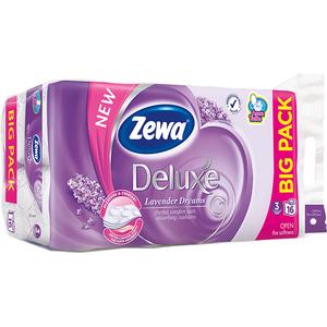 Hartie igienica ZEWA Deluxe Lavender dreams, 3 straturi, 16 role