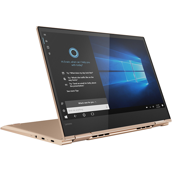 "Laptop 2 in 1 LENOVO Yoga 730-13IKB, Intel Core i7-8550U pana la 4.0GHz, 13.3"" 4K Touch Display, 8GB, SSD 512GB, Intel UHD Graphics 620, Windows 10 Home"
