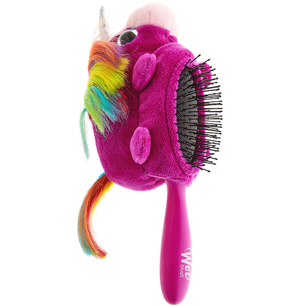 Perie de par WET BRUSH Plush Unicorn WBBWR830PLUUN, 3 luni+, mov