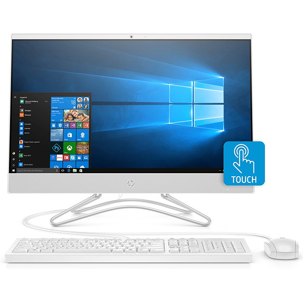 "Sistem PC All in One HP Pavilion 24-f0010nq, 23.8"" Full HD Touch, Intel Core i5-8250U pana la 3.4GHz, 4GB, 1TB, Intel UHD Graphics 620, Windows 10 Home"