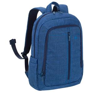 "Rucsac laptop RIVACASE 7560, 15.6"", poliester, albastru"