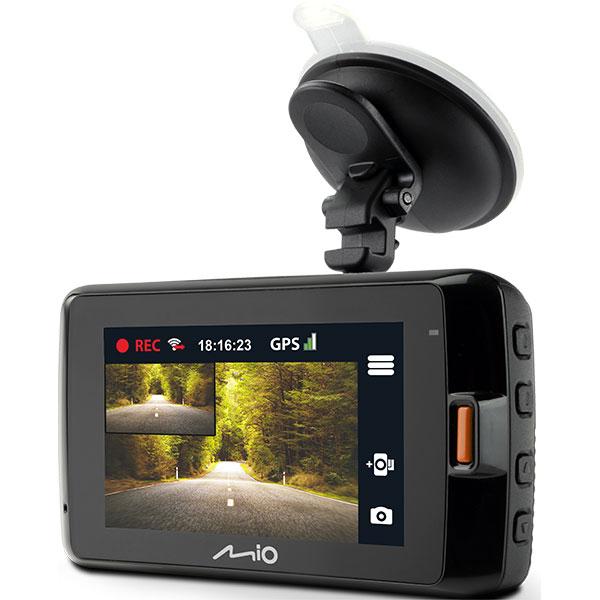 """Camera auto DVR fata-spate MIO MIVUE 752DUAL, 2.7"""", Full HD, GPS, G-senzor"""