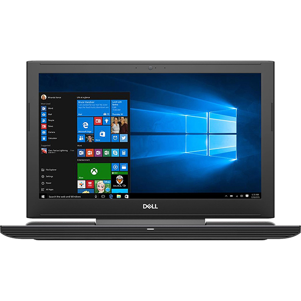 "Laptop Gaming DELL Inspiron 7577, Intel® Core™ i7-7700HQ pana la 3.8GHz, 15.6"" Full HD, 16GB, HDD 1TB + SSD 256GB, NVIDIA GeForce GTX 1060 6GB, Windows 10 Home"