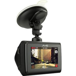 "Camera auto DVR MIO MiVue 766, 2.7"", Full HD, Wi-Fi, GPS, negru"