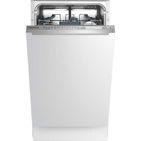 Masina de spalat vase incorporabila GRUNDIG GSV41820, 10 seturi, 8 programe, 45 cm, clasa A++