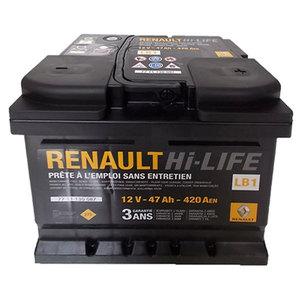 Baterie auto RENAULT 7711130087, 47Ah, 420A, 12V
