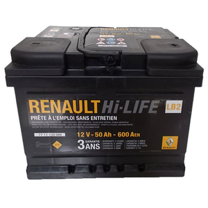Baterie auto RENAULT 7711130088, 600A, 50Ah, 12V