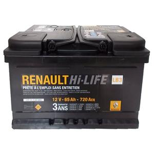 Baterie auto RENAULT 7711130089, 720A, 65Ah, 12V