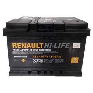 Baterie auto RENAULT 7711238597, 60Ah, 600A, 12V