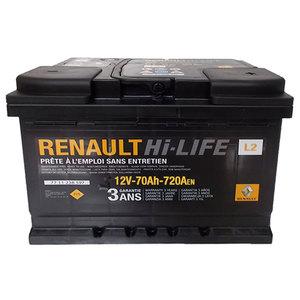 Baterie auto RENAULT 7711238598, 70Ah, 720A, 12V