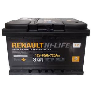 Baterie auto RENAULT 7711238598, 720A, 70Ah, 12V