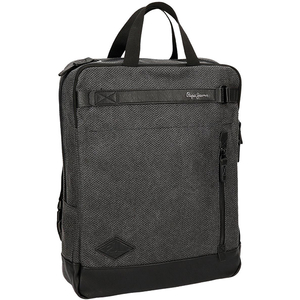 Rucsac PEPE JEANS LONDON Scrambler 7762451, Compartiment laptop, negru