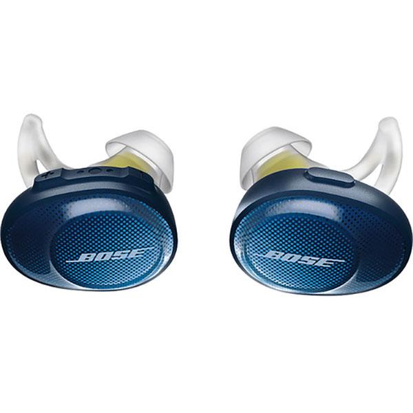 Casti BOSE SoundSport Free 774373-0020, microfon, in ear, True Wireless, albastru-galben