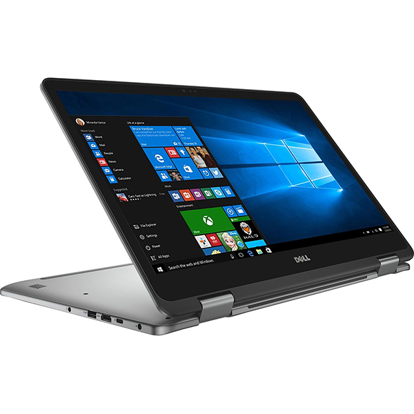 "Laptop 2 in 1 DELL Inspiron 7773, Intel® Core™ i7-8550U pana la 4.0GHz, 17.3"" Full HD Touch, 16GB, SSD 512GB, NVIDIA GeForce MX150 2GB, Windows 10 Home"