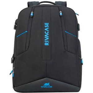 "Rucsac laptop RIVACASE 7860, 17.3"", poliester, negru"