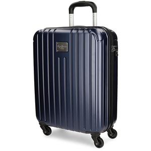 Troler PEPE JEANS LONDON Color Stripes, 55cm, albastru