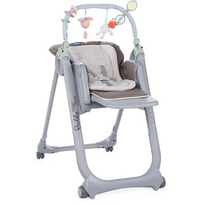 Scaun de masa CHICCO Polly Magic Relax Dove Grey 79432-8 DOVE GREY, 0 luni - 3 ani, gri