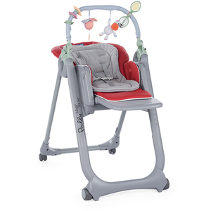 Scaun de masa CHICCO Polly Magic Relax 79432-8 RED, 0 luni - 3 ani, rosu