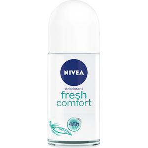 Deodorant roll-on antiperspirant NIVEA Fresh Comfort, pentru femei, 50 ml