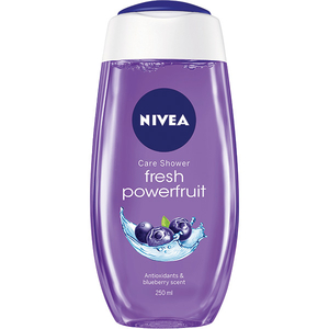 Gel de dus Nivea Fresh Powerfruit, parfum de Afine, 250ml