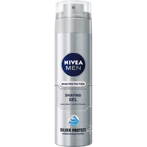 Gel de ras NIVEA Men Silver Protect, 200ml