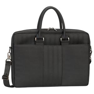 "Geanta laptop RIVACASE 8135, 15.6"", poliester, negru"