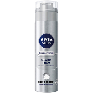 Spuma de ras NIVEA Men Silver Protect, 200ml