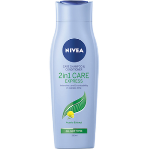 Sampon 2in1 NIVEA Care Express, 250ml