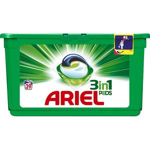 Detergent capsule ARIEL Regular, 39 capsule