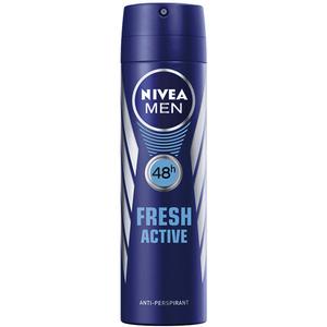 Deodorant spray antiperspirant NIVEA MEN Fresh Active, pentru barbati, 150ml