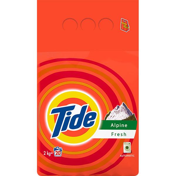 Detergent automat TIDE Alpin, 2kg
